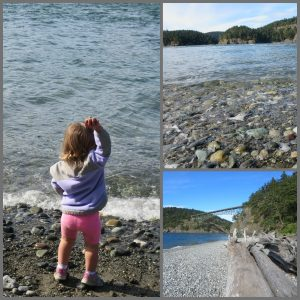 Deception Pass State Park North Beach with Toddler