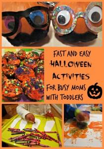 Easy Halloween Activities for Toddlers