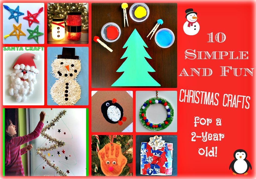 christmas craft ideas for 2 year olds