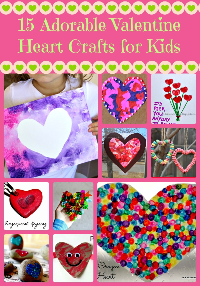 valentine crafts for kids 15 adorable crafts for 30824
