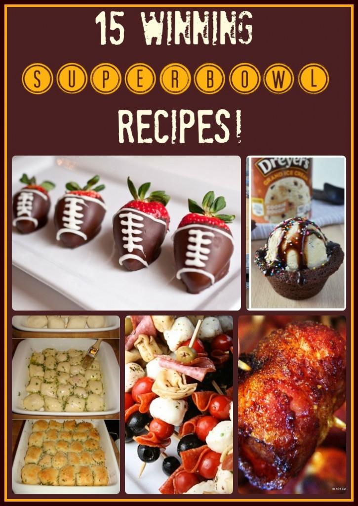 Winning Superbowl Recipes