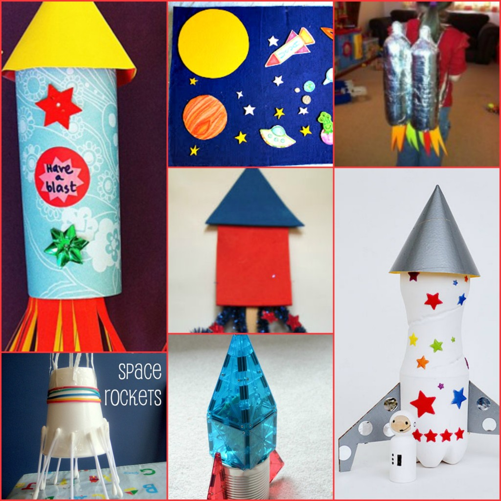 Rocketship Crafts for Kids
