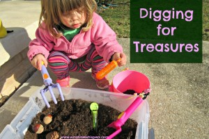 Digging for Treasures Activities for Toddlers
