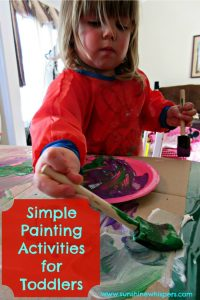 simple painting activities for toddlers