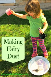 Activities for Toddler Making Fairy Dust