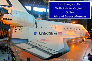 Fun Things to Do With Kids in Virginia Dulles Air and Space Museum