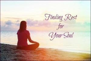 Women Encountering Jesus Bible Study Lesson Rest for Your Soul