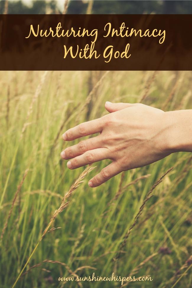 Women Encountering Jesus Bible Study Lesson Nurturing Intimacy With God
