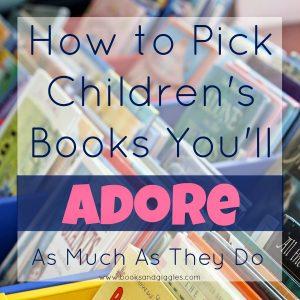 how to pick children's books square