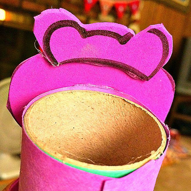 hippopotamus zoo animal toilet paper roll crafts for kids