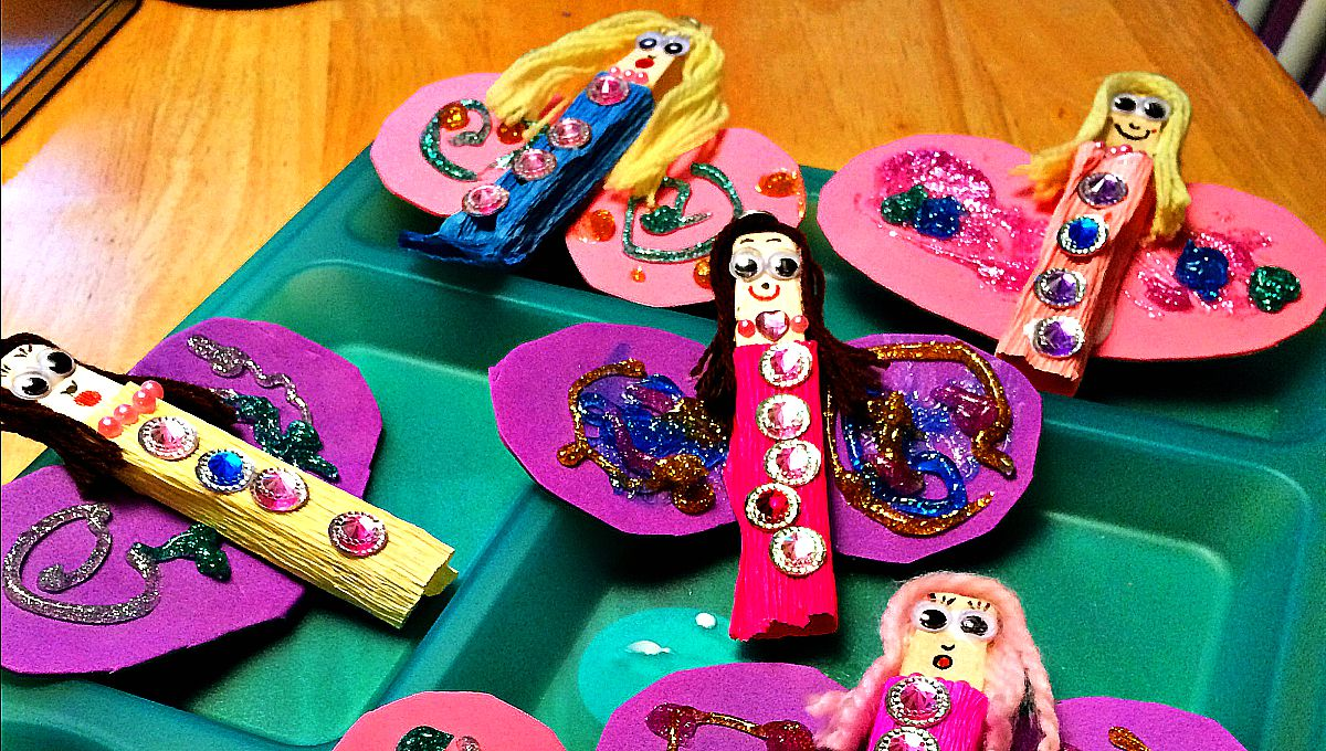 fairy craft ideas clothespin crafts for 1976