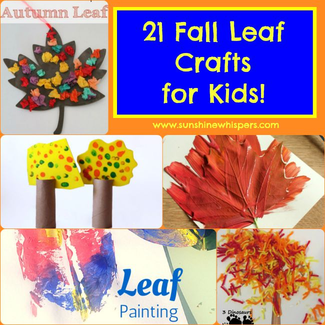 21 Fun Fall Leaf Crafts For Kids