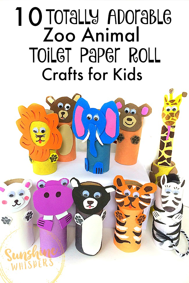 Toilet Paper Crafts For Kids