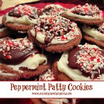 peppermint patty christmas cookies