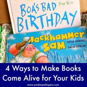 make books come alive