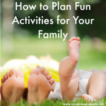 how to plan for family fun