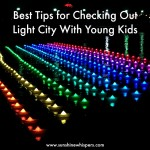 light city with kids