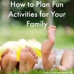 family fun planning