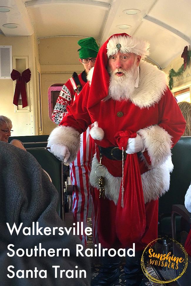 walkersville southern railroad santa train