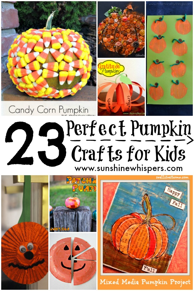 pumpkin crafts for kids
