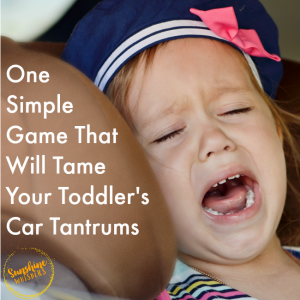 toddler car tantrums