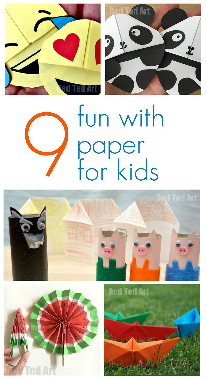 paper crafts for kids