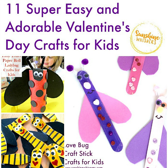 valentine crafts for kids 11 easy and adorable s day crafts for 30824