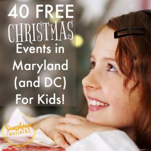 free christmas events in maryland