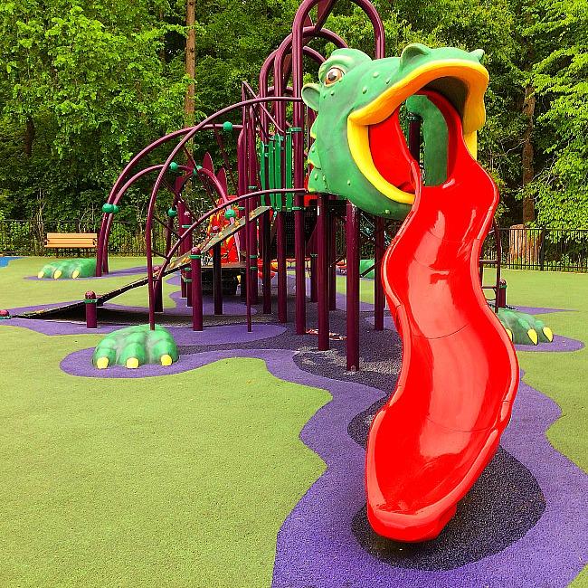 Medieval Dragon Imagination Playground