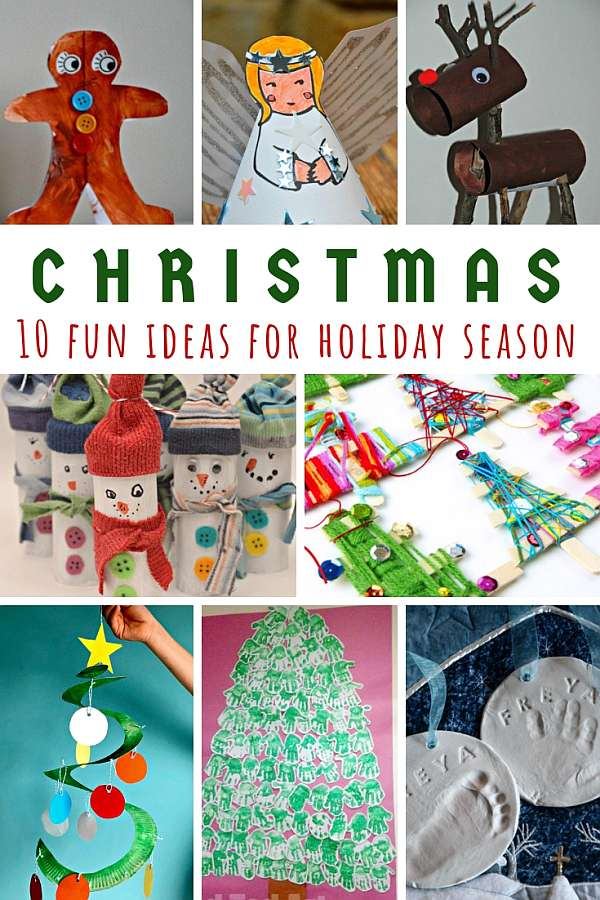 10 Super Fun Christmas Craft Ideas For The Holiday Season!
