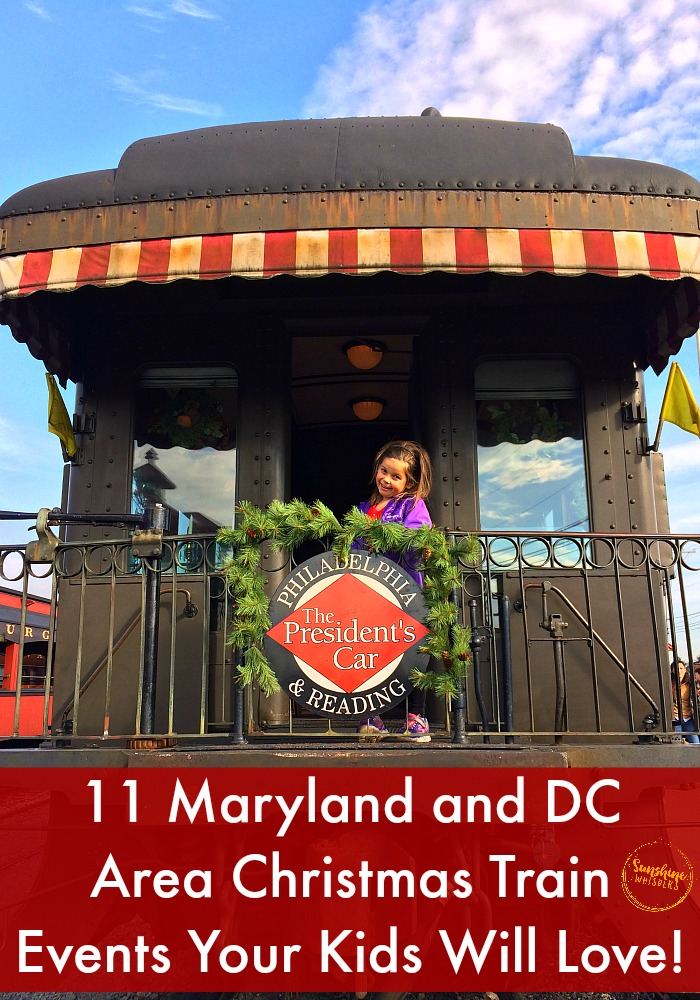 maryland christmas trains