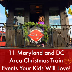 christmas trains in maryland